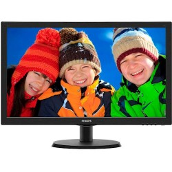 "TFT монитор PHILIPS 19.5""- 200V4LSB/62 16:9 w-LED Black"