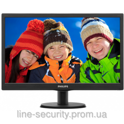 "Монитор TFT PHILIPS 19.5""- 203V5LSB2/62 16:9 w-LED VGA Black"