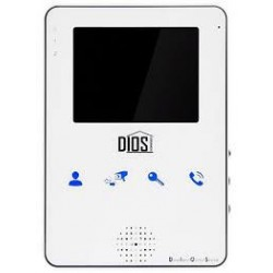 Видеодомофон Dios DS-104 (white/black)